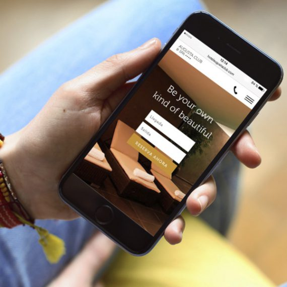 Diseño web Augusta Club hotel